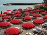 MONACO BEACH LA ROSE DES VENTS PRIVATE BEACH RESTAURANT
