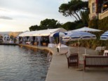 JUAN LES PINS BEACH BELLES RIVES BEACH FRANCE