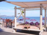 SAINT AYGULF BEACH RESTAURANT LE MAS D'ESTEL PRIVATE BEACH