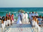 Wedding on the beach, French Riviera