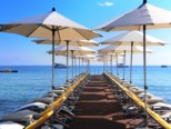 CAP D\'ANTIBES BEACH LE PAVILLON PRIVATE BEACH FRENCH RIVIERA