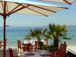 LE COLOMBIER AND HELIOS, private beaches, Juan les Pins, French Riviera