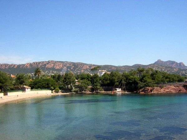 Saint-Raphael France  city pictures gallery : ... to TIKI PLAGE, private beach, Agay, Saint Raphaël, French Riviera