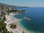 MONACO BEACH LA NOTE BLEUE PRIVATE BEACH RESTAURANT